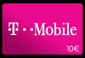 t mobile 10 euro aufladen online