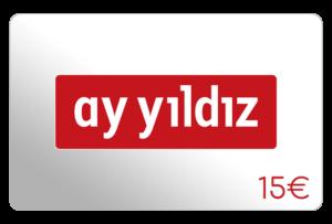 ay yildiz 15 euro aufladen online