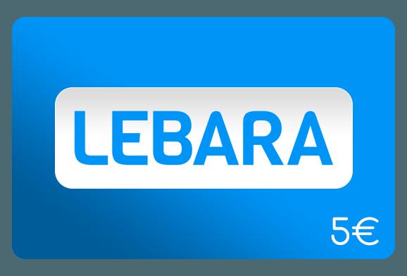 lebara 5 euro aufladen online