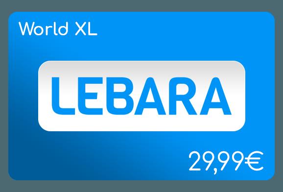 lebara world xl flat aufladen online