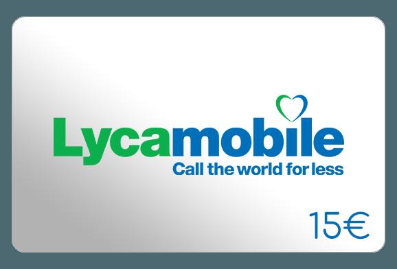 lycamobile 15 euro aufladen online