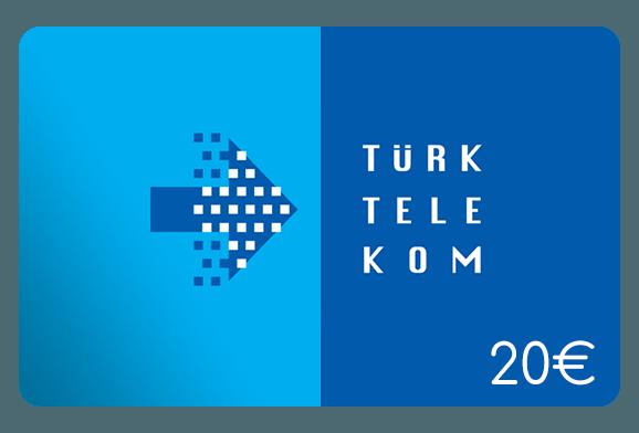 türk telekom 20 euro aufladen online